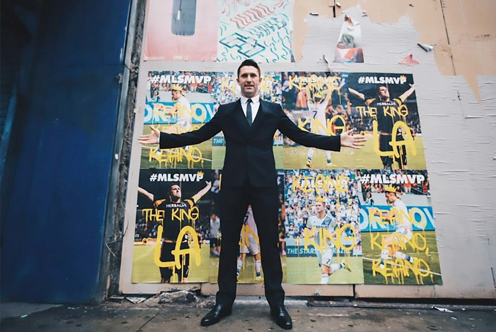LA Galaxy's Robbie Keane